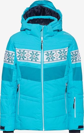 CMP Skijacke in aqua / himmelblau / weiß, Produktansicht