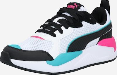 PUMA Sneakers laag 'X-Ray' in de kleur Jade groen / Zwart / Wit, Productweergave
