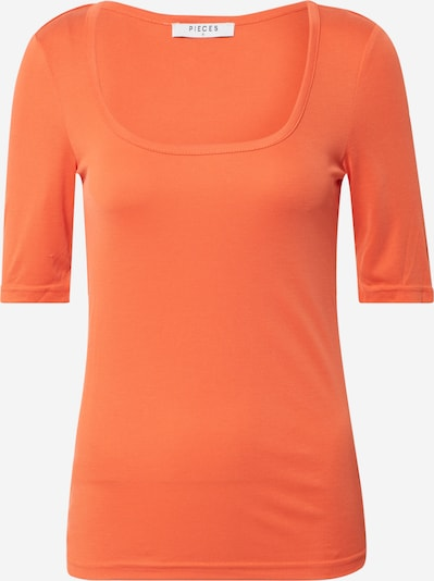 PIECES Shirt 'PCNUKITA' in orange, Produktansicht