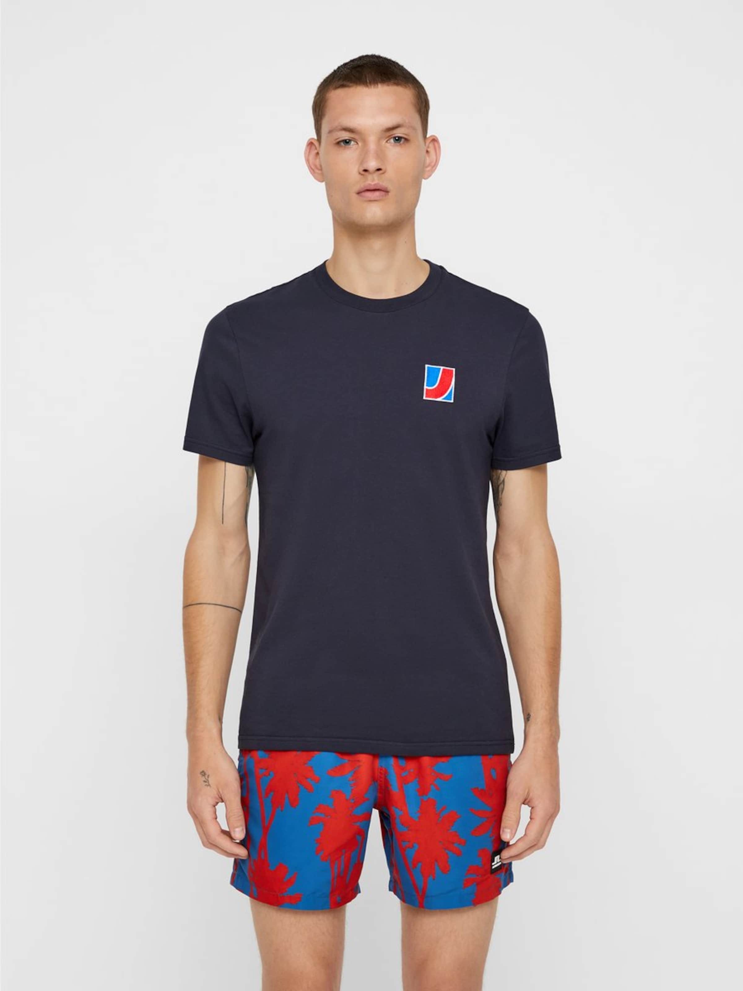 In J 'bridge' lindeberg shirt T Navy 35ARLqj4