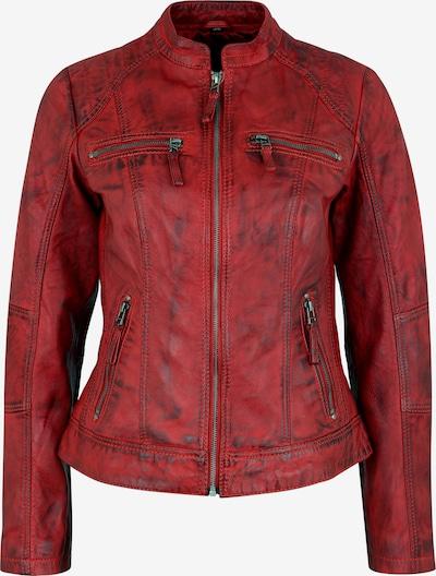 7ELEVEN Lederjacke 'Toulouse' in rot, Produktansicht
