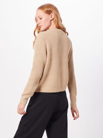 ONLY Sweter 'CELTINA' w kolorze beżowym: Widok od tyłu