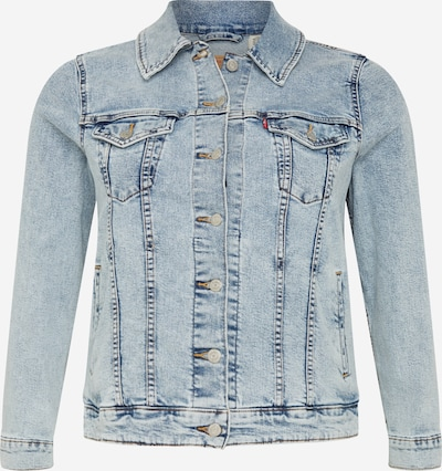Levi's® Plus Jeansjacke 'PL ORIGINAL TRUCKER' in blue denim, Produktansicht