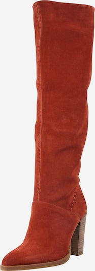 BRONX Škornji 'NEW-AMERICANA' | rjasto rjava barva: Frontalni pogled