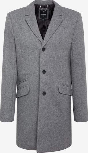 Palton de primăvară-toamnă 'JULIAN SOLID' Only & Sons pe gri: Privire frontală