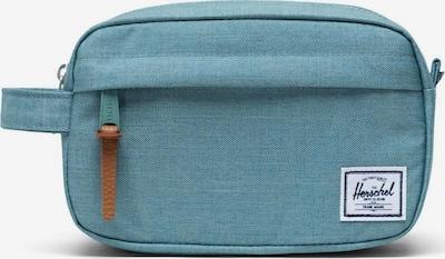 Herschel Toilettas 'Chapter' in de kleur Lichtblauw, Productweergave