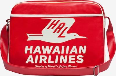 LOGOSHIRT Tasche 'Hawaiian Airlines Seagull' in rot / weiß, Produktansicht