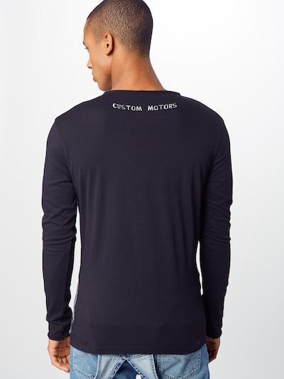 Key Largo Majica | črna barva: Pogled od zadnje strani
