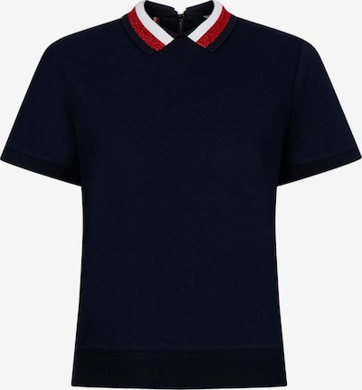 TOMMY HILFIGER T-Krekls 'Abby' kamuflāžas / sarkans / balts, Preces skats