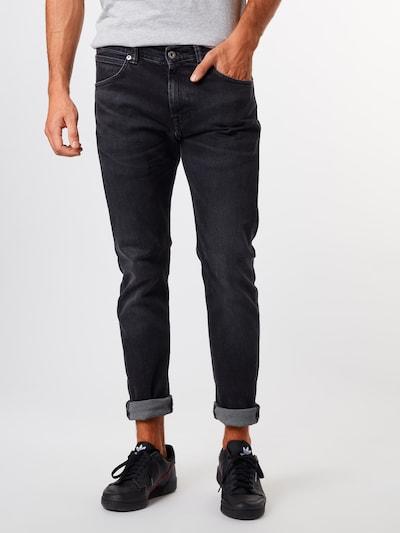 EDWIN Džinsi 'ED-85' pieejami melns džinsa, Modeļa skats
