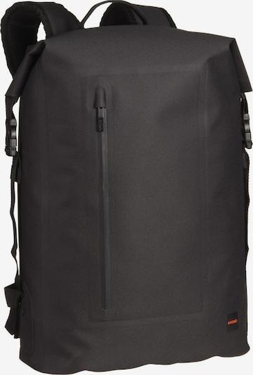 KNOMO Rugzak 'Thames' in de kleur Zwart, Productweergave