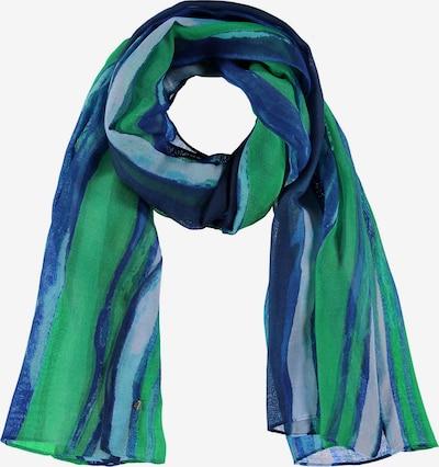 SAMOON Schal Schal im Streifen-Design in blau, Produktansicht