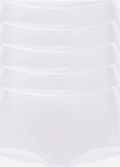 VIVANCE Pantys mit Glanzeinfassung in weiß, Produktansicht