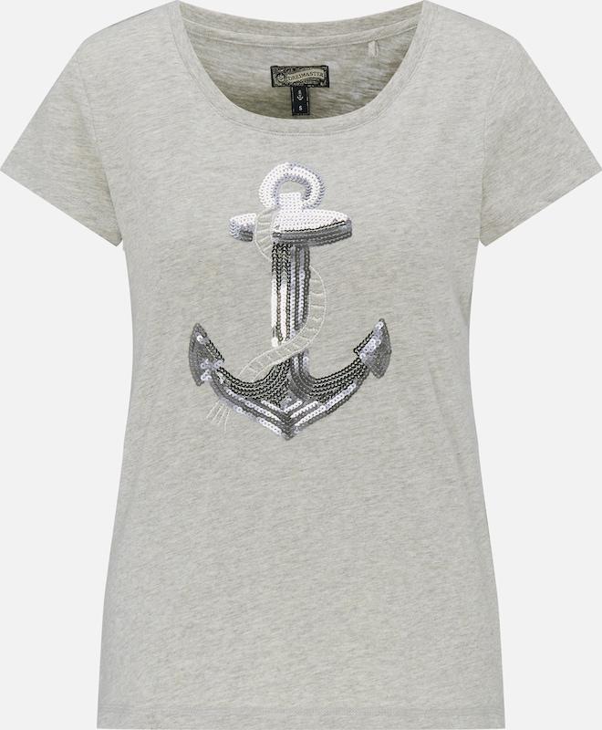 DREIMASTER T-Shirt in graumeliert  Bequem und günstig