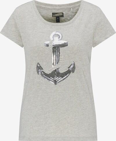 DREIMASTER T-Shirt in graumeliert, Produktansicht