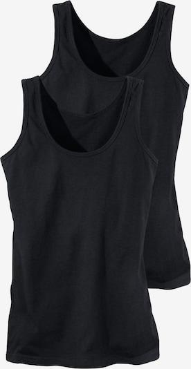 H.I.S Tanktops (2 Stück) in schwarz, Produktansicht