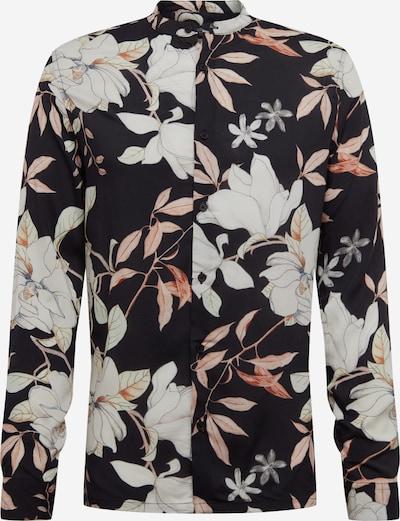 BURTON MENSWEAR LONDON Overhemd 'TIKI' in de kleur Gemengde kleuren / Zwart, Productweergave