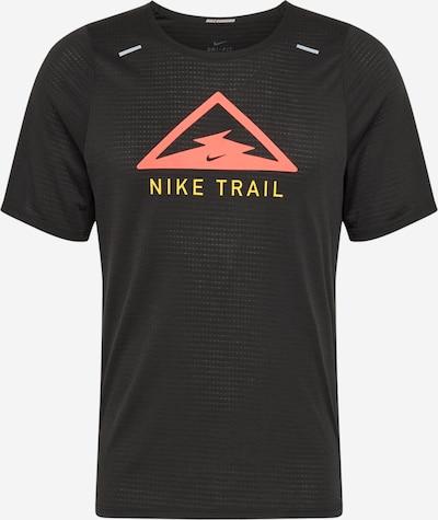 Sportiniai marškinėliai 'Running Top' iš NIKE , spalva - geltona / raudona / juoda, Prekių apžvalga