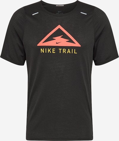 NIKE Tehnička sportska majica 'Running Top' u žuta / crvena / crna, Pregled proizvoda