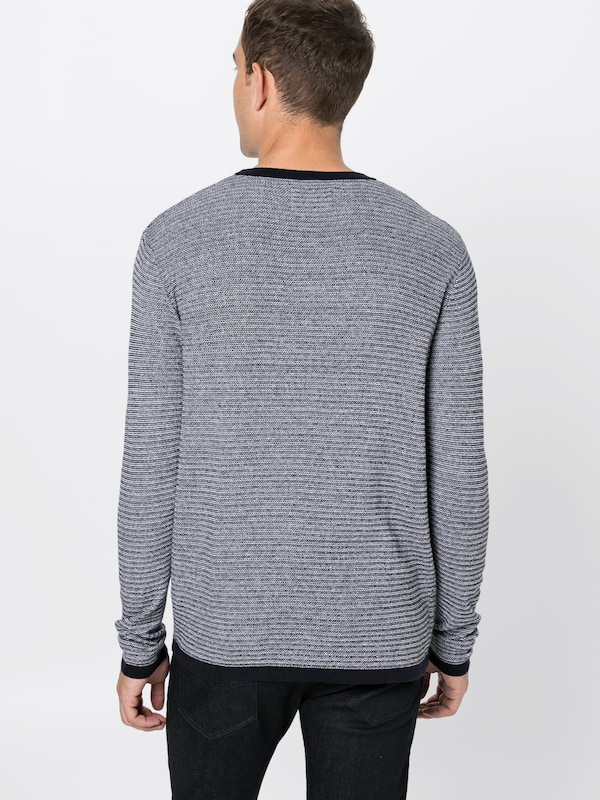 Jones Neck' Crew Bleu Pull Knit Jackamp; En Foncé over 'jcoreno KcFT31lJ
