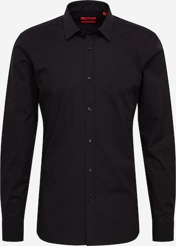 Camicia 'Elisha02' di HUGO in nero