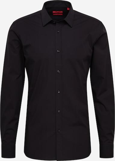 HUGO Hemd 'Elisha02' in schwarz, Produktansicht