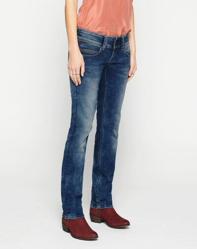 Pepe Jeans Traperice 'Venus' u plavi traper, Prikaz modela