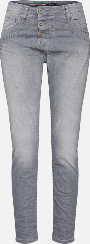Please Now Jeans in grau, Produktansicht