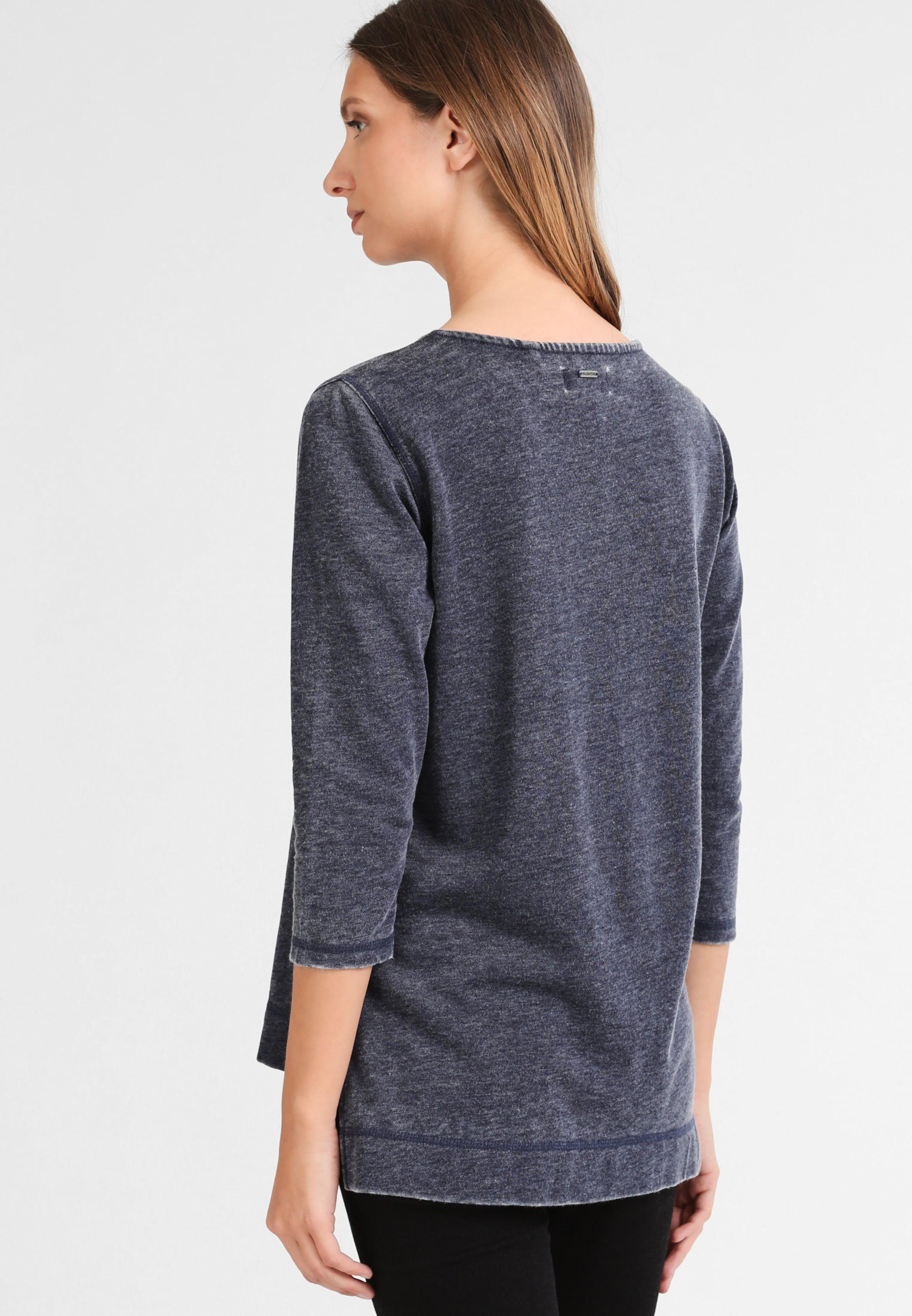 shirt Sweat En Dreimaster gris Bleu 34RjAq5L