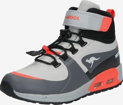 KangaROOS Schuhe 'Kanga X Hydro' in grau / rot, Produktansicht