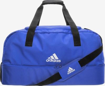 ADIDAS PERFORMANCE Fußballtasche 'Tiro Bottom Compartment Large' in blau / schwarz / weiß, Produktansicht