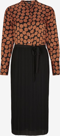 s.Oliver BLACK LABEL Kleid in apricot / schwarz, Produktansicht