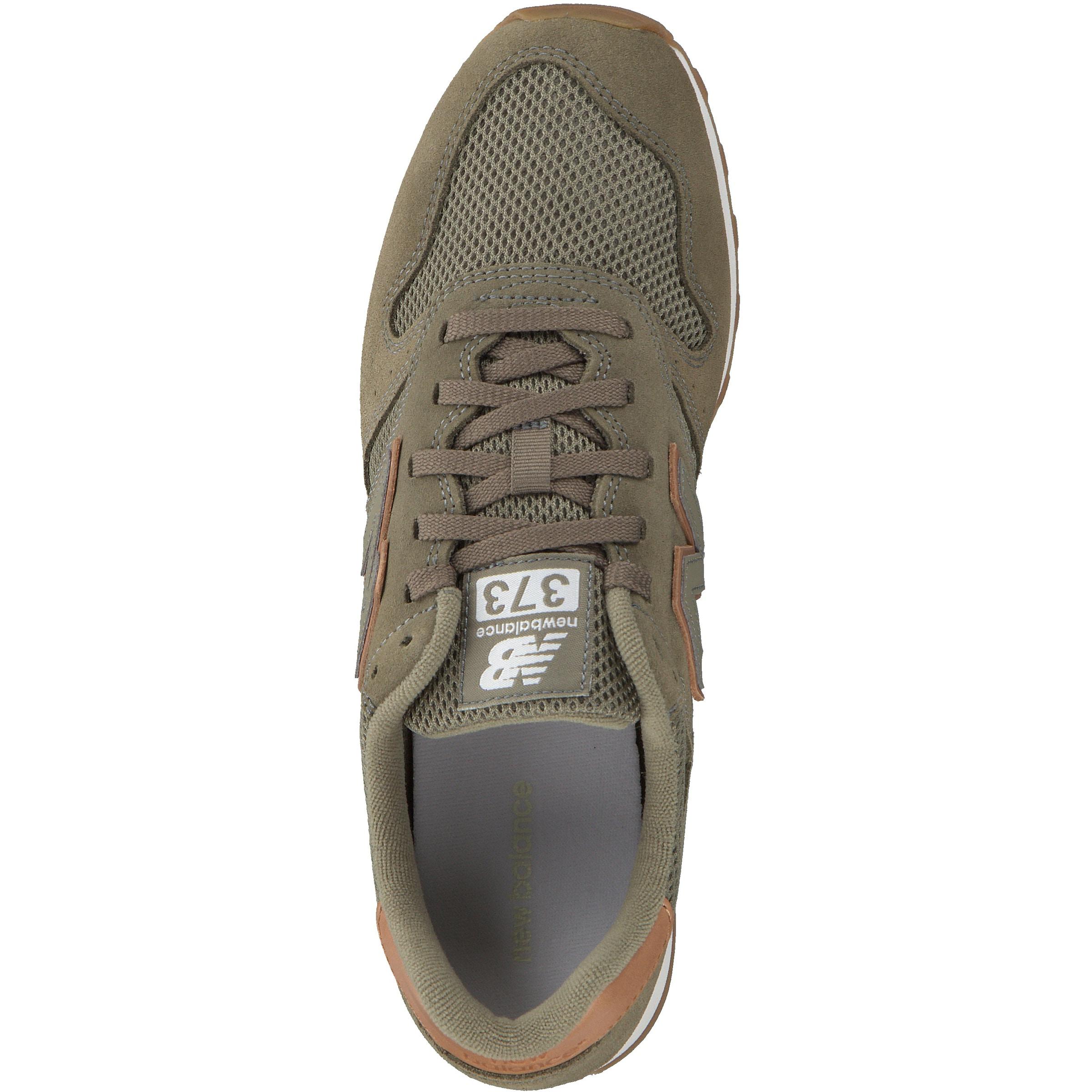 Sneaker New Weiß In BraunKhaki Balance jqSc43ARL5