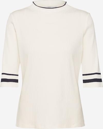 EDC BY ESPRIT Shirt 'Crew Rib Tee' in offwhite, Produktansicht