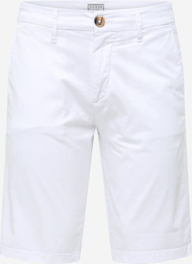 GUESS Pantalon chino 'MYRON' en blanc, Vue avec produit
