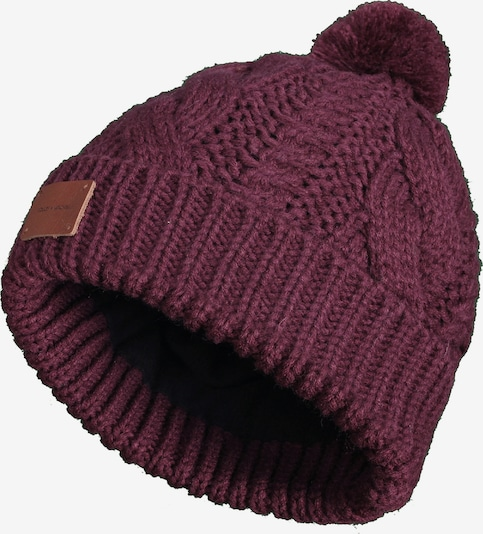 Bickley + Mitchell Muts '72060-01 Beanie' in de kleur Bordeaux, Productweergave
