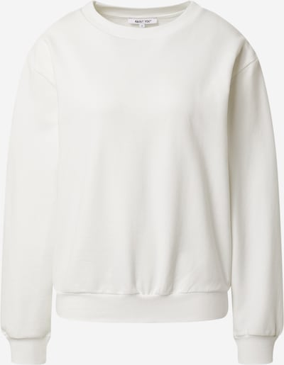 ABOUT YOU Sweat-shirt 'Eleonora' en blanc, Vue avec produit