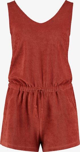 Shiwi Jumpsuit 'Terry' in de kleur Karmijnrood, Productweergave
