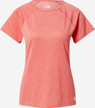 THE NORTH FACE T-shirt fonctionnel 'ACTIVE TRAIL ' en rouge vif, Vue avec produit
