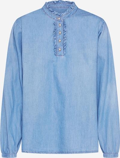 Cream Bluse 'Sandrine' in blue denim, Produktansicht