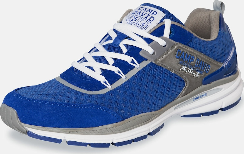 CAMP DAVID Sneaker in royalblau / grau, Produktansicht