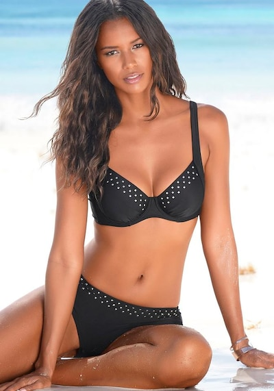 LASCANA Bikini in Black, View model