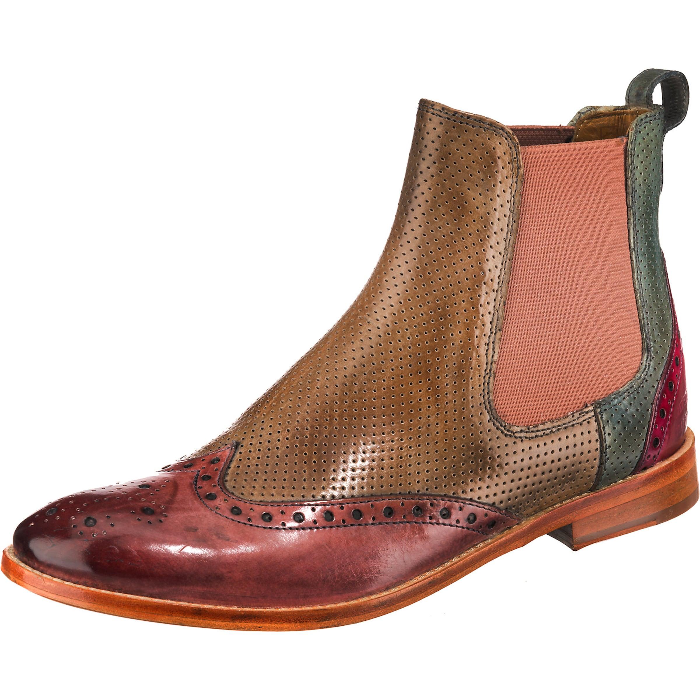 Altrosa Melvinamp; 'amelie' Boots In Chelsea Pastellrot HellbraunOliv Hamilton IH29ED