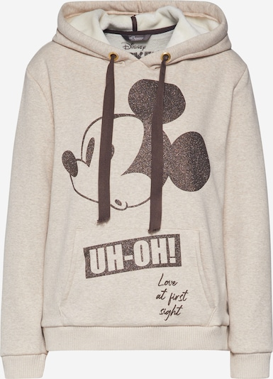 PRINCESS GOES HOLLYWOOD Sweat-shirt 'Disney Mickey Oh' en beige / noir, Vue avec produit