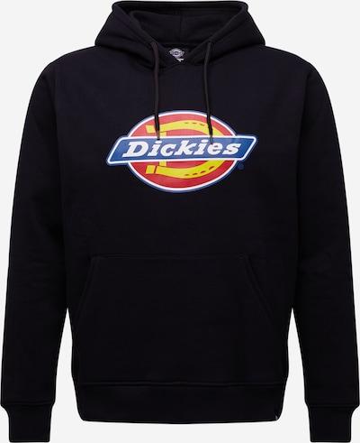 DICKIES Sweatshirt 'SAN ANTONIO' in blau / gelb / rot / schwarz / weiß, Produktansicht