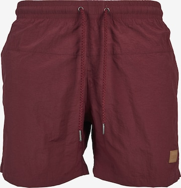Urban Classics Swimming shorts in Red
