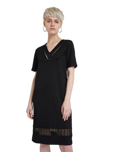 Desigual Šaty 'Vest Lisa' - čierna: Pohľad spredu
