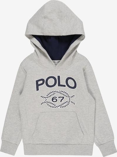 POLO RALPH LAUREN Sweatshirt 'LS PO HOOD-TOPS-KNIT' in de kleur Grijs gemêleerd, Productweergave