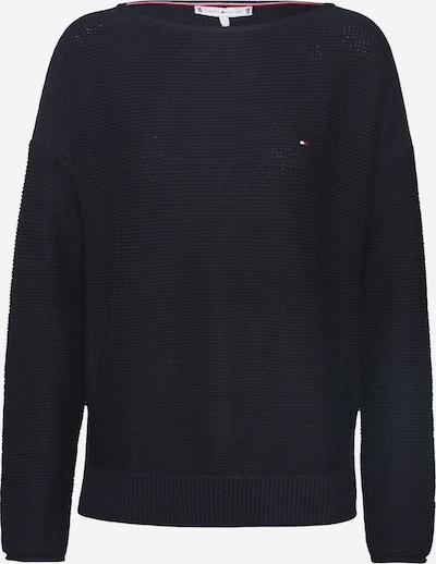 TOMMY HILFIGER Pullover 'HAYANA BOAT' in schwarz, Produktansicht