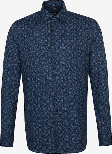 SEIDENSTICKER Hemd 'Modern' in blau / navy / nachtblau, Produktansicht